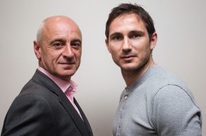 Rob Beasley and Frank Lampard